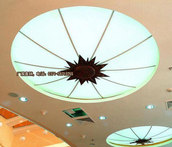 中式灯 异形大型水晶灯 仿古灯 酒店 宾馆 茶楼灯 装修讨